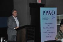 Paul Disimoni HRPA welcoming delegates